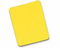Yellow Mouse Mat  6mm Foam Backed