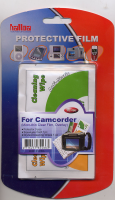 Halloa Protective Film For Camcorders With Anti Static Wipe