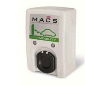 1 Socket EV charge unit with rfid Type 2 1P+N+T 16A 230Vac 3.5kW