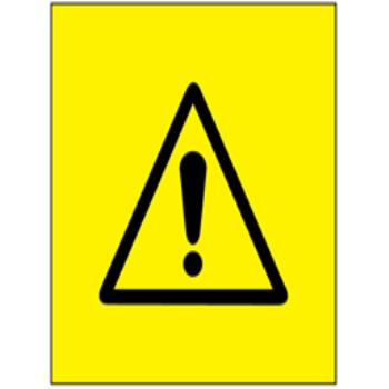 Warning symbol labels