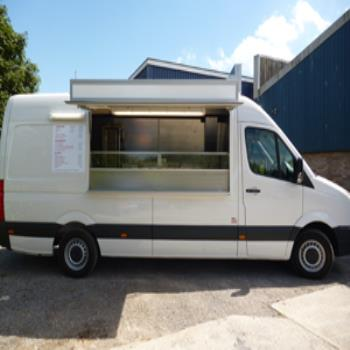 Van Conversion Catering Trailer