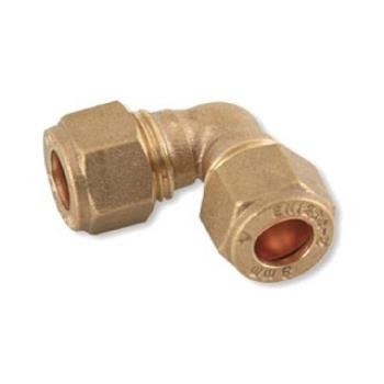 C X C Elbow Brass Compression Fittings