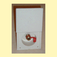 Gas Outlet Panel Box For Barbeques (BBQ) etc