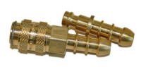 Gas Line Male & Female Inline Gas Hose Connector - BBQ