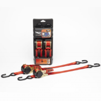 Ratchet Tie Down 183 Red Pair (T-450185O)