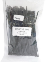 Cable Ties Black 140 X 36mm 100/Pack
