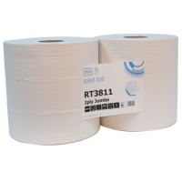Jumbo Toilet Roll 76mm Core PK6