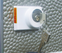 Abus Rear Caravan / Motorhome Door Lock