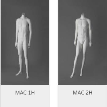 Mac Headless Male Mannequins