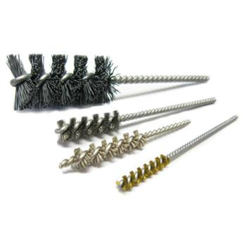 Twisted in Wire Cross Hole Deburring Brushes