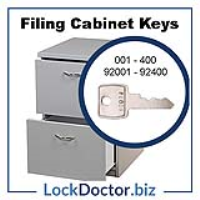 UK Supplier of filing cabinet keys in the most common range