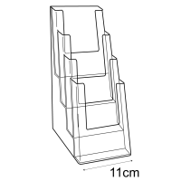1/3 A4 leaflet holder: 4 tier-counter