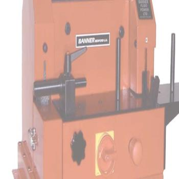 Banner BS210CS Bench Mount Cut Off and Hose Skiving Machine