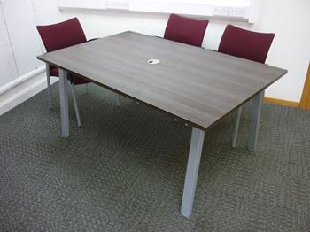 1600 x 1000mm Wenge meeting tables