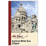 Da Vinci Archival White Duo 225gsm