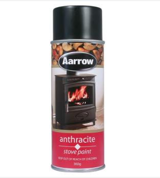 Aarow Anthracite Stove Paint Retailer