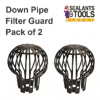 Gutter Leaf Down Pipe Guard Filter Pack of 2