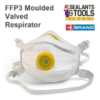 B Brand P3 Valved Safety Face Mask Toxic Level Dust & Fume FFP3