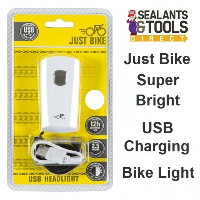 Just Bike USB Rechargeable Bicycle Cycle Headlight 66000