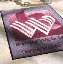 Bespoke Company Logo Mats Manufactures
