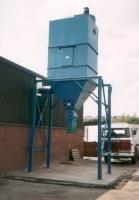 ROTARY VALVE DISCHARGE WITH RAISED STEELWORK