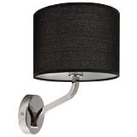 Ocara Armed Wall Light Black Shade