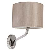 Ocara Armed Wall Light Oyster Shade