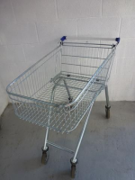 100 Litre Used Shallow Easy Shopper Supermarket Shopping Trolley