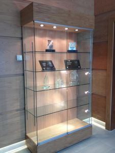 Jewish Care - Trophy Cabinet for the main Foyer