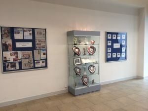 Drapers Academy - Drapers Academy Trophy Cabinet
