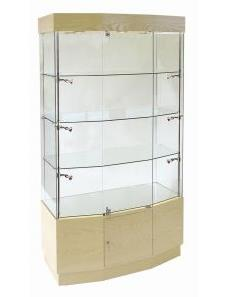 Wood Trophy Cabinets for Universities