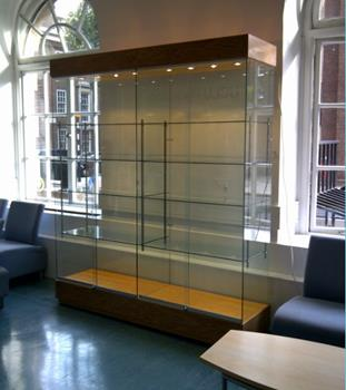 Modern Trophy Cabinet for Universities