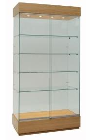 Wood Trophy Cabinets for Colleges