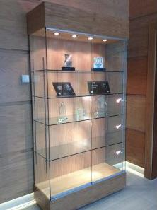 Oak Trophy Cabinet  for Colleges