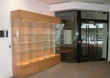 Glass Cabinets for the Education Sector