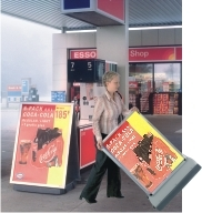 Pavement & Forecourt Signs