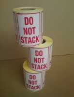 Labels Do Not Stack Roll Of 1000 80X110Mm