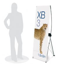 XB3 Banner Display Stand