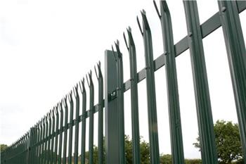 D Section Palisade Fencing