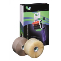 Umax Low Noise Packaging Tape 2 Roll And Dispenser Starter Pack