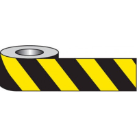 Yellow/Black Barrier And Area Cordon Tape