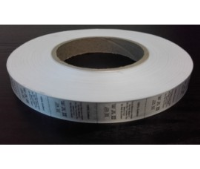 Satin Care Labels Printed on a Roll - 25mm Width x 2000