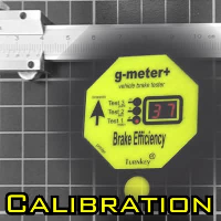 G Meter/G Meter Plus Calibration charge