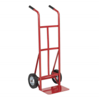 Sack Truck with Solid Tyres 150kg Cap