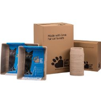 Recycled Paper Litter Boxes