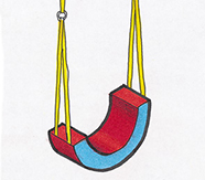 Horseshoe Swing - Soft Play Structure