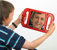 Hand-held Mirror Frame