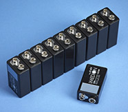 Rechargeable Batteries - Pack of 10 Imedion Rechargeable Batteries PP3 9v