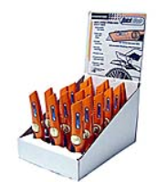 Pacific Handy Display Case With 18 Quick Blade Spring Back Knives - Dbqbs-20