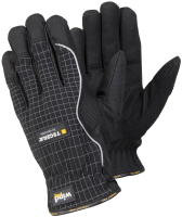1 Pair Size 10 XL Tegera Pro 9161 Microthan Synthetic Leather Bamboo Half Lined Windproof Work Gloves